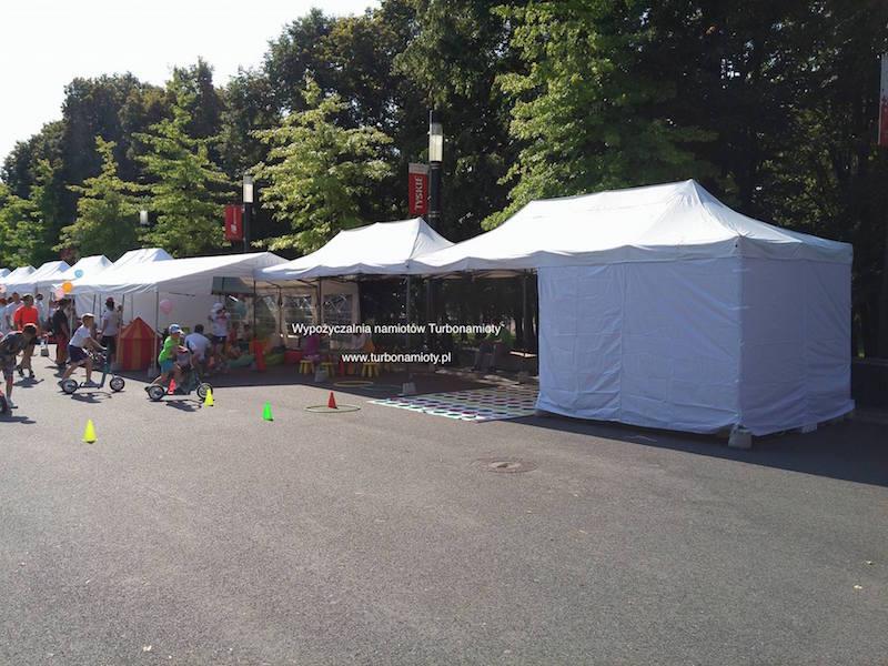 Bardzo dobra Wynajem namiotów ekspresowych - namioty ekspresowe 3x6 TG62