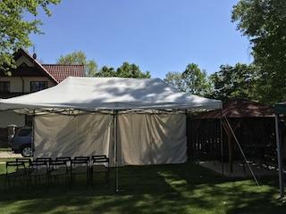 Wynajem namiotu ogrodowego na imprezę do 20 osób
